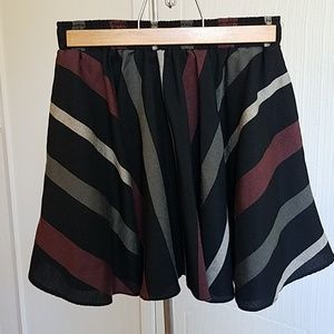Multicolored BCBGeneration Skirt, Size XS